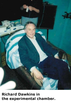Dawkins in chair